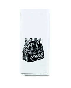Coca-Cola Chalk Talk Kitchen Towel