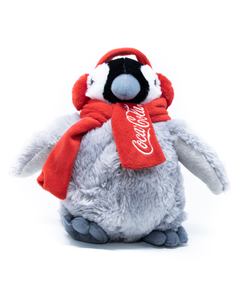 Coca-Cola Penguin Plush - 8""