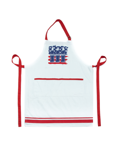 Coca-Cola Bottles and Flag Americana Apron