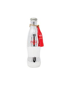 Coca-Cola 100Year Silver Bottle