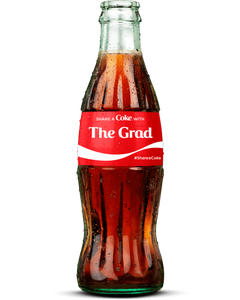 """The Grad"" Coca-Cola Bottle"